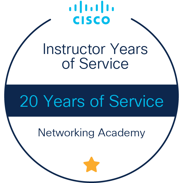 C05 743250 00 Cisco Networking Academy Badge Instructor v4a 04 no year